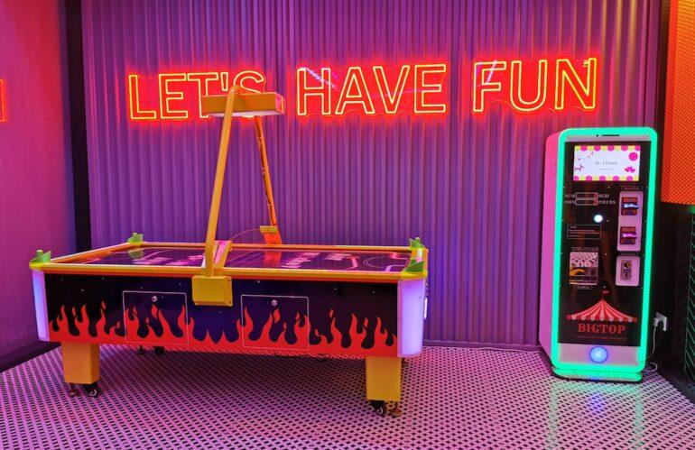 Arcade Games Rental Promo in Singapore