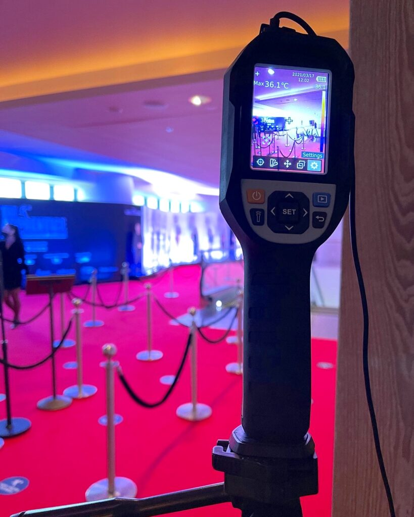 Thermal Scanner Station for Hire in Singapore